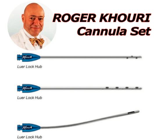 Kit Khouri Cannula Set