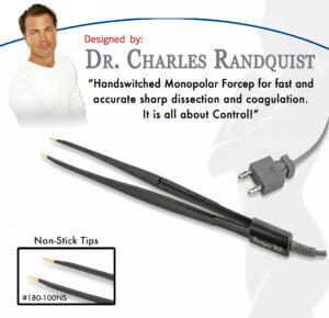 Pinzas monopolares Charles Randquist Surgest Medical