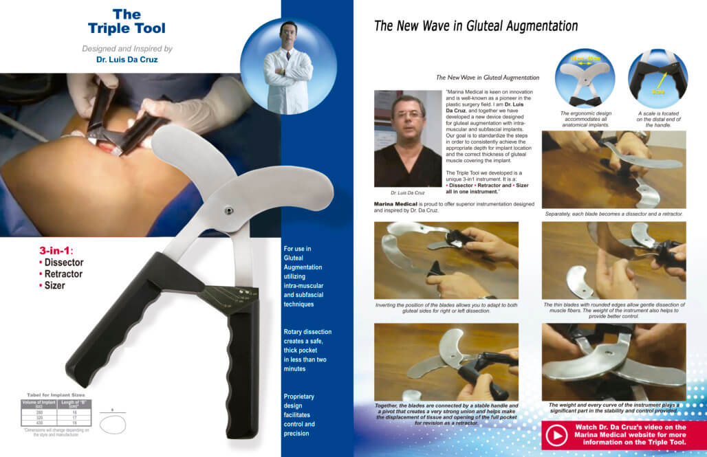 Disector Gluteoplastia surgest medical