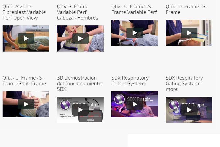 Videos de productos para RADIOTERAPIA distribuidos por Surgest Medical